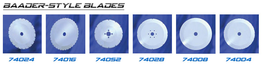 Baader Blades for Seafood