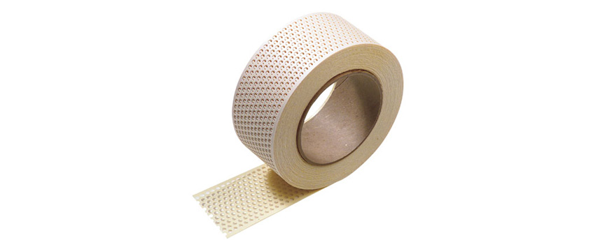 Adhesive Paper Drywall Tape : Hyde tools self adhesive paper joint tape quot