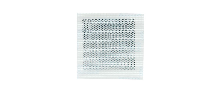 "Hyde Tools 09898 Fiberglass/Aluminum Self-Adhesive Wall Patch, 4"" x 4"""