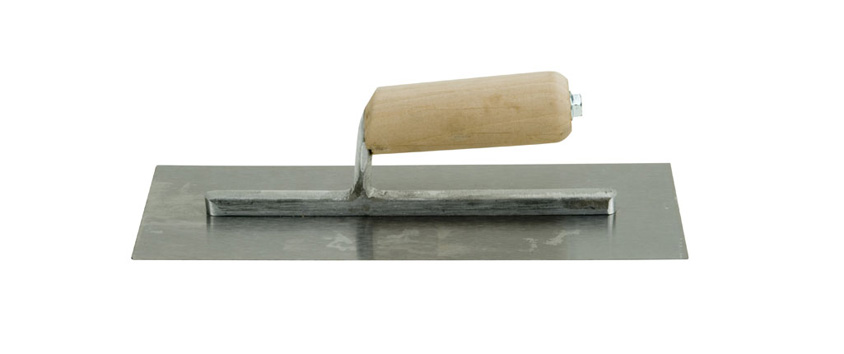 "Hyde Tools 18520 12"" x 4"" Flat Finishing Trowel"