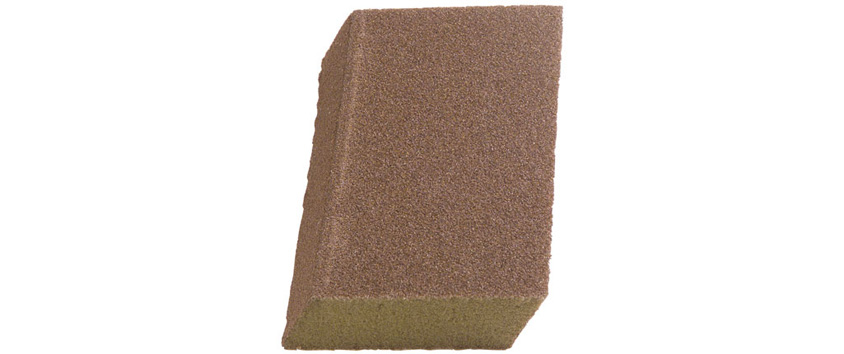 Hyde Tools 45370 Angled Foam Sanding Block (fine/medium)