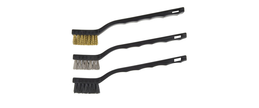 Hyde Tools 46660 Mini Brushes, Assorted (3)
