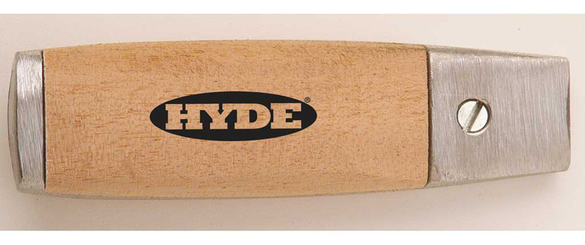 Hyde Tools 63080 Hardwood Mill Blade Handle (2108), 4-1/2