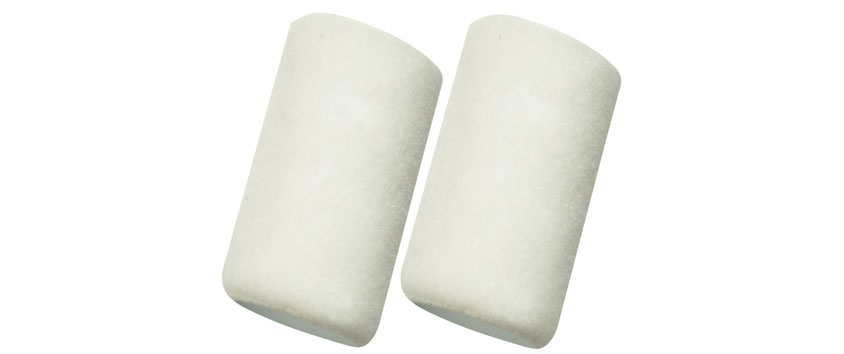 Richard 94011 4'' roller cover, 1/4'' pile (pack 2).